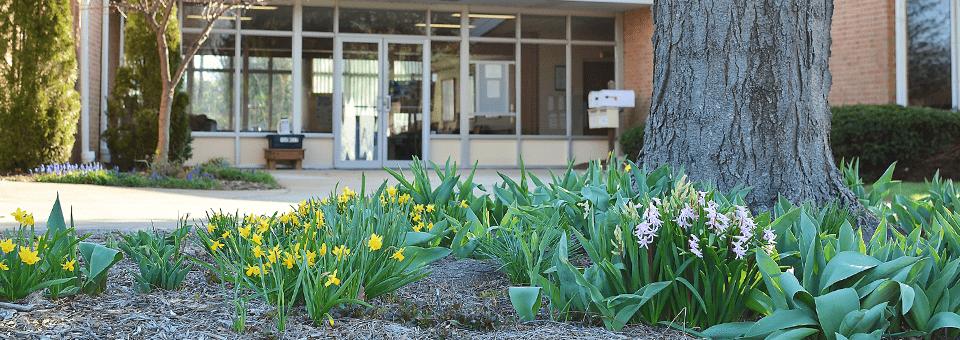 Spring at Christ Presbyterian Church